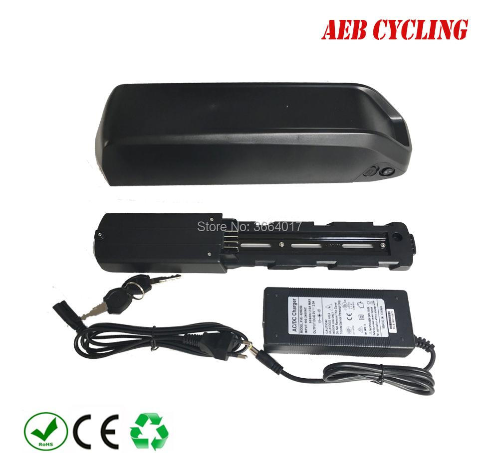 EU US free customs 36V 48V 250W 350W 500W 750W 1000W ebike Li ion battery 10Ah