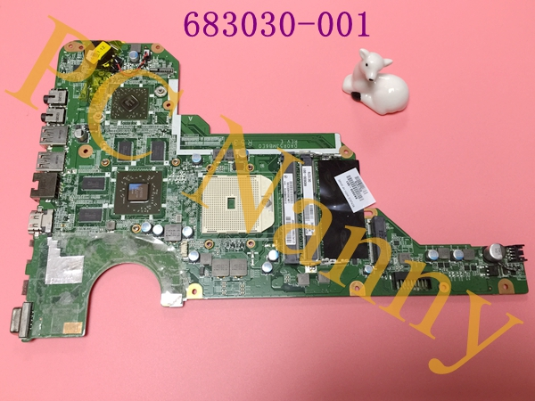 683030-001 683030-501 for HP G4 G6 G4-2000 G6-2000 laptop motherboard DA0R53MB6E1 REV:E Fully work & 100% Tested  free shipping 683030 001 683030 501 for hp pavilion g4 g6 g4 2000 g7 g6 2000 motherboard r53 da0r53mb6e0 da0r53mb6e1