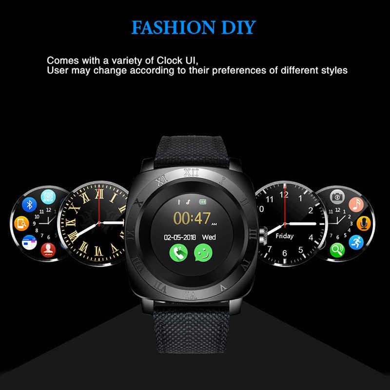 LIGE 2019 新 smart watch メンズスポーツウォッチ led カラータッチスクリーン Bluetooth smart watch サポート SIM カードカメラ音楽プレーヤー