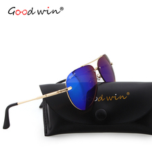 BUENA VICTORIA Mens Piloto gafas de Sol Polarizadas de Los Hombres gafas de Sol de Espejo Aviador gafas de sol hombre Capa de la Lente UV400