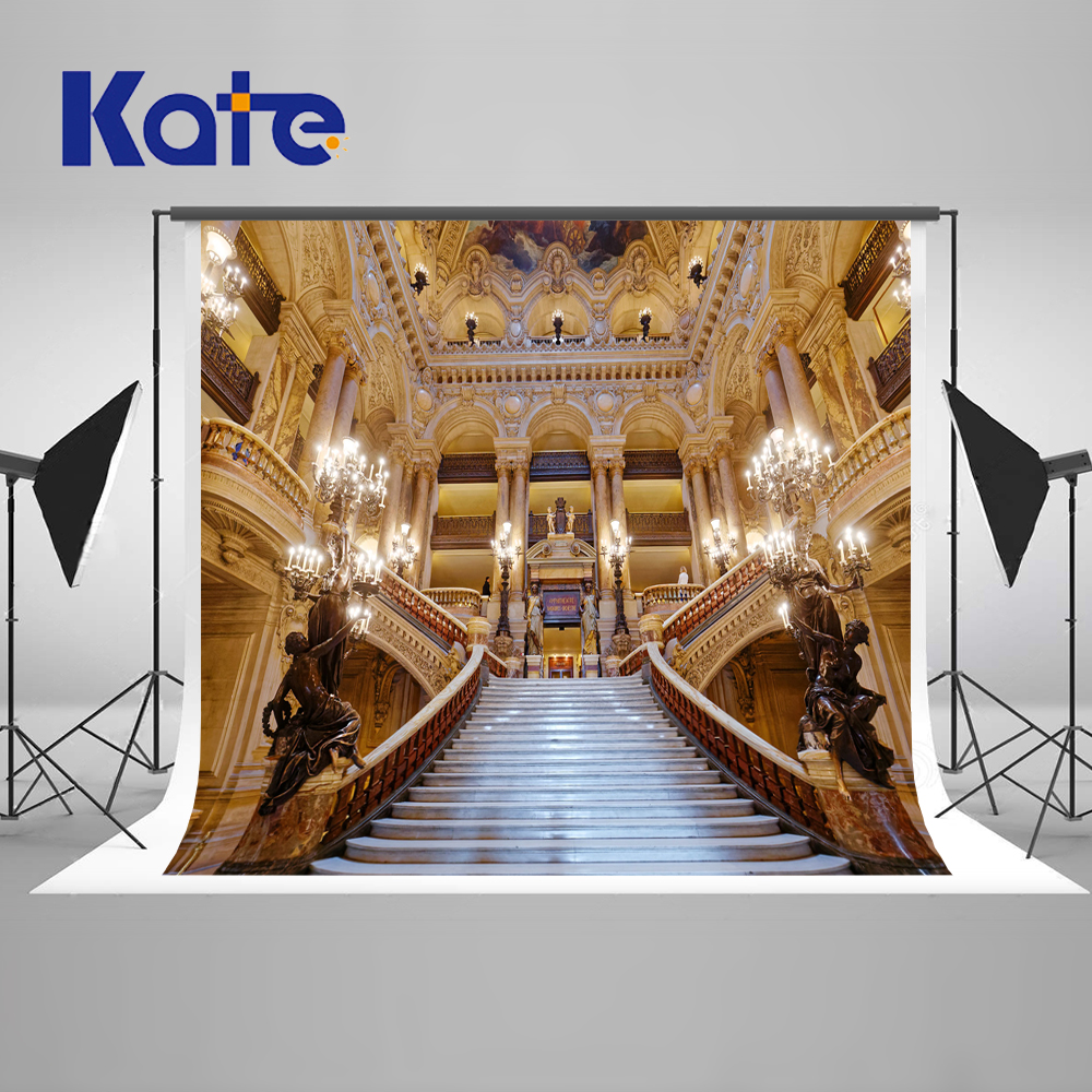 Kate 10x10ft Indoor Wedding Photography Backdrop church wedding photo backdrop stairs microfiber background for photo shoot excelvan photography prop background backdrop studio photo wedding wall indoor black 3ft 5ft