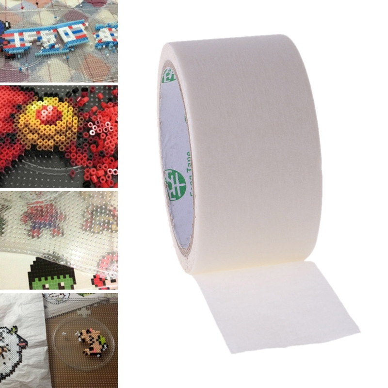 Hama Beads Masking Tape Protective Template Prevent Beans Spreading Beads Parts Creative Hand Making 3D Puzzle DIY Toy