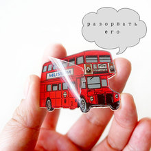Acrylic Kawaii Icon Pin Brooch