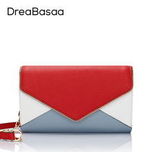 DreaBasaa Genuine Leather Women Messenger Bags Designer Handbags High Quality Ladies bag Mini Shoulder Bag Small Crossbody Bags
