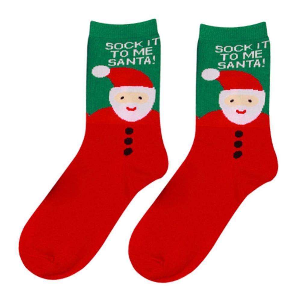 2016 frohe Weihnachten Geschenk Neue frauen Baumwolle Casual Socken ...