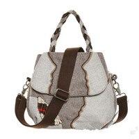 New Fashion Appliques Women Shopping Multi Use Bags Hot All Match Lady Casual Shoulder Handbags Cute