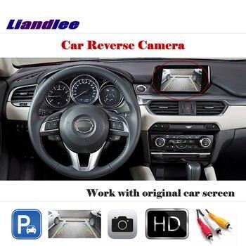 Car Rear View Camera (6V) For Mazda 6 Atenza GJ1 Sedan Mazda6 2013-2018 2014 2016 /Not Fit GG1 GH1 Reverse Camera Car Accesories