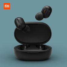 Original Xiaomi Redmi Airdots TWS Bluetooth Earphone Stereo Bass BT 5.0 Eeadphones With Mic Handsfree Earbuds AI Control xiaomi tws airdots bluetooth earphone youth version stereo bass bt 5 0 headphones mic handsfree earbuds ai control