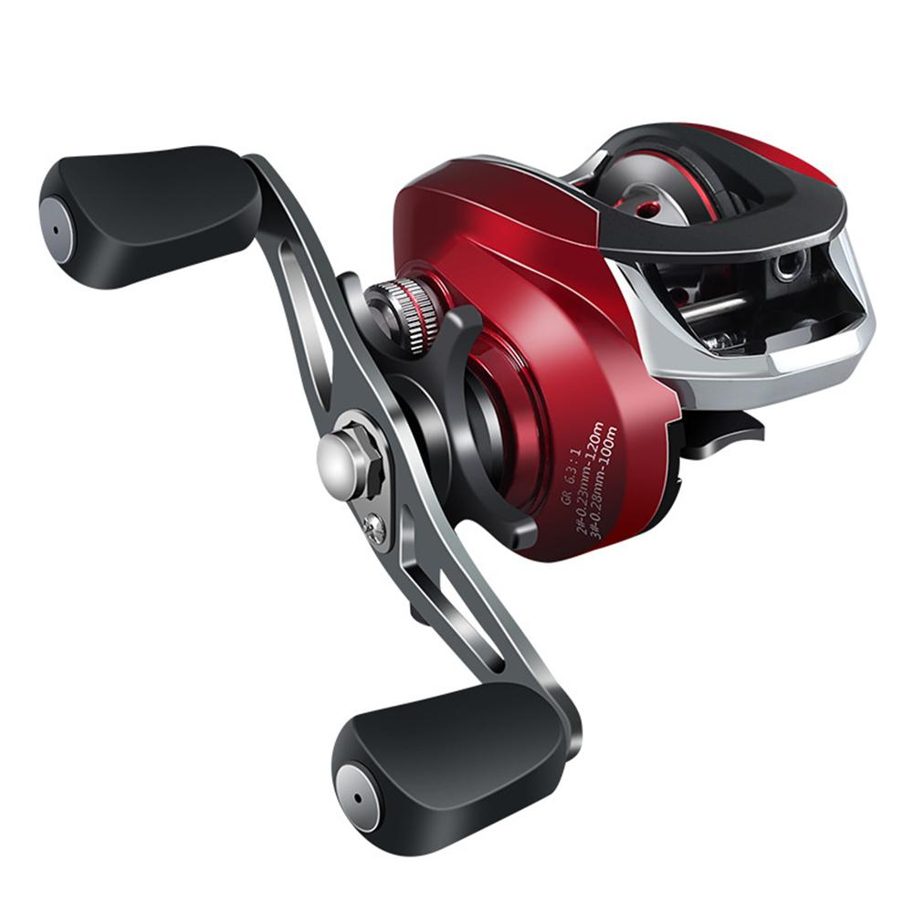 7axis Low-Profile Reel High Magnetic Braking Force Fishing Reel(China)