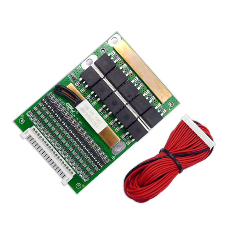 BMS 6S TO 17S 80A 3.2V 3.7V 18650 Lithium Li ion Battery Balancer 10S 13S 16S Lifepo4 BMS Lipo PCM Balancing Protection Board
