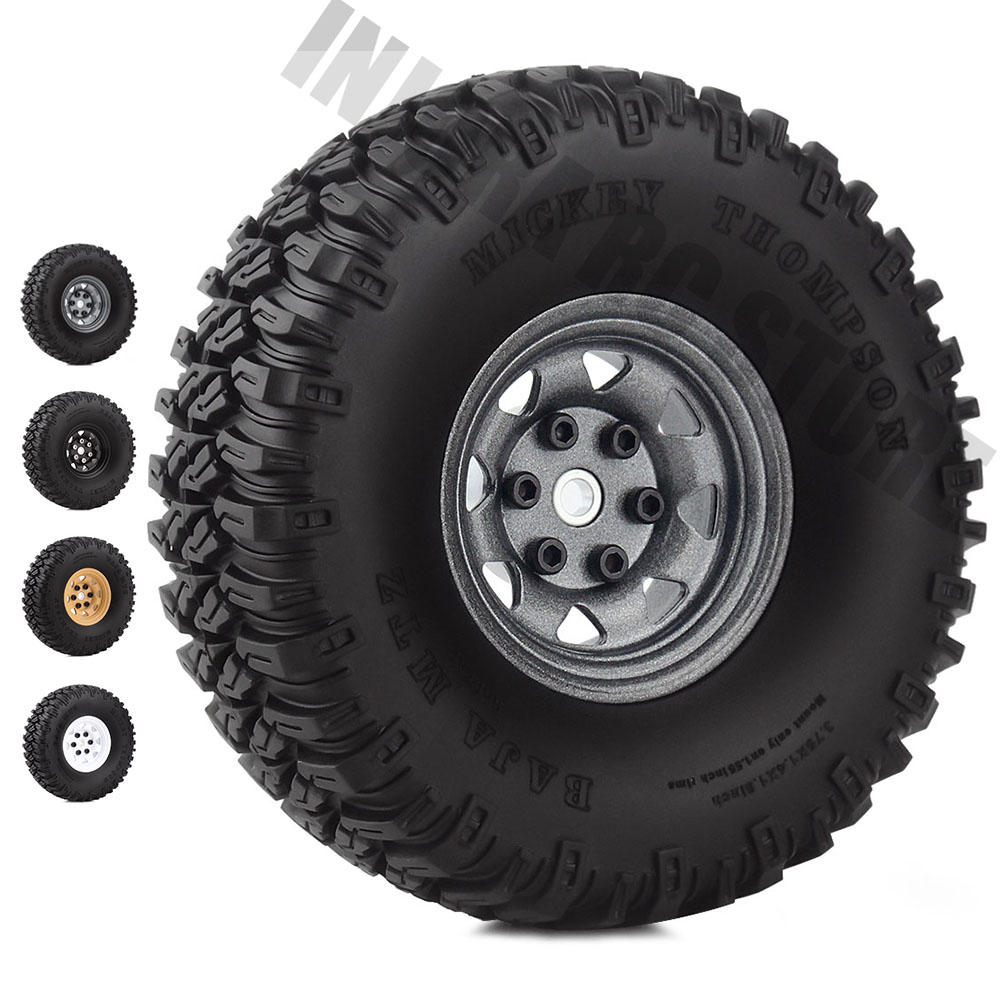 4PCS 1/10 RC Car 1.55 Inch Tyre 1.55
