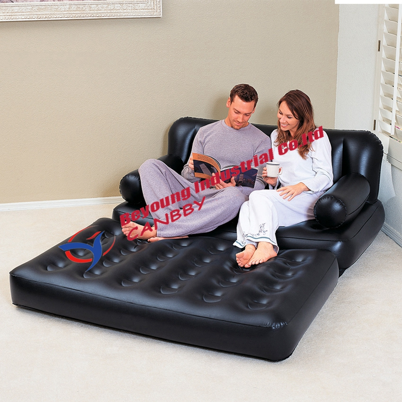 Bestway multi functional sofa couch double 5 in 1 for Sofa bed 5 in 1 murah