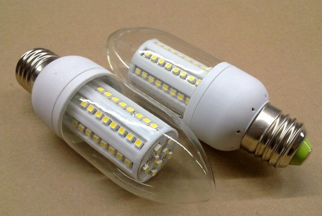 3W led candle light,E27 base,60pcs 3528 SMD LED