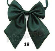 Crianças do sexo masculino verde Escuro Ajustável Bowtie borboletas bowtie polyester silk Bow Tie new Roupas & Acessórios