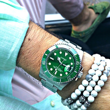 LGXIGE merek fashion luang dan bisnis pria menonton penyelam jam tangan olahraga baja tahan lama Shock wirst kuarsa menonton tahan air 10Bar