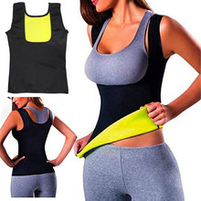 Win Women Neoprene Body Shaper Slimming Yoga Fitness Running Vest Sauna Shapewear Breast Support Hip Up Stretch Sport Sauna Top wholesale