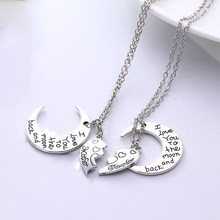 Fashion Jewelry Mother Daughter Classic Sweater Pendant Necklace Women Chic Jewelry Winter Beautiful Elegant Charm Necklaces(China)