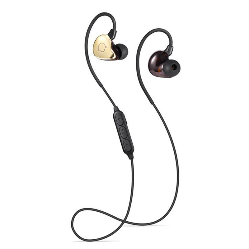 Wireless Sports Bluetooth Headset Headphones Noise Cancelling Running Earbuds Bluetooth Earphone with MIC for iphone wireless bluetooth headset mini business headphones noise cancelling earphone hands free with microphone for iphone 7 6s samsung