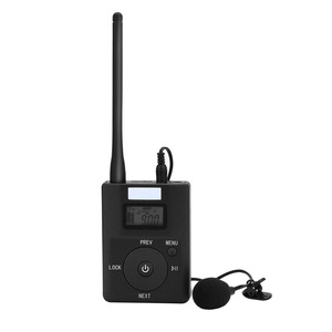 Image 2 - Portable 3.5MM AUX Low power Wireless FM Transmitter Stereo Radio Broadcast Adapter Support TF card For Xiaomi  MP3 PC CD