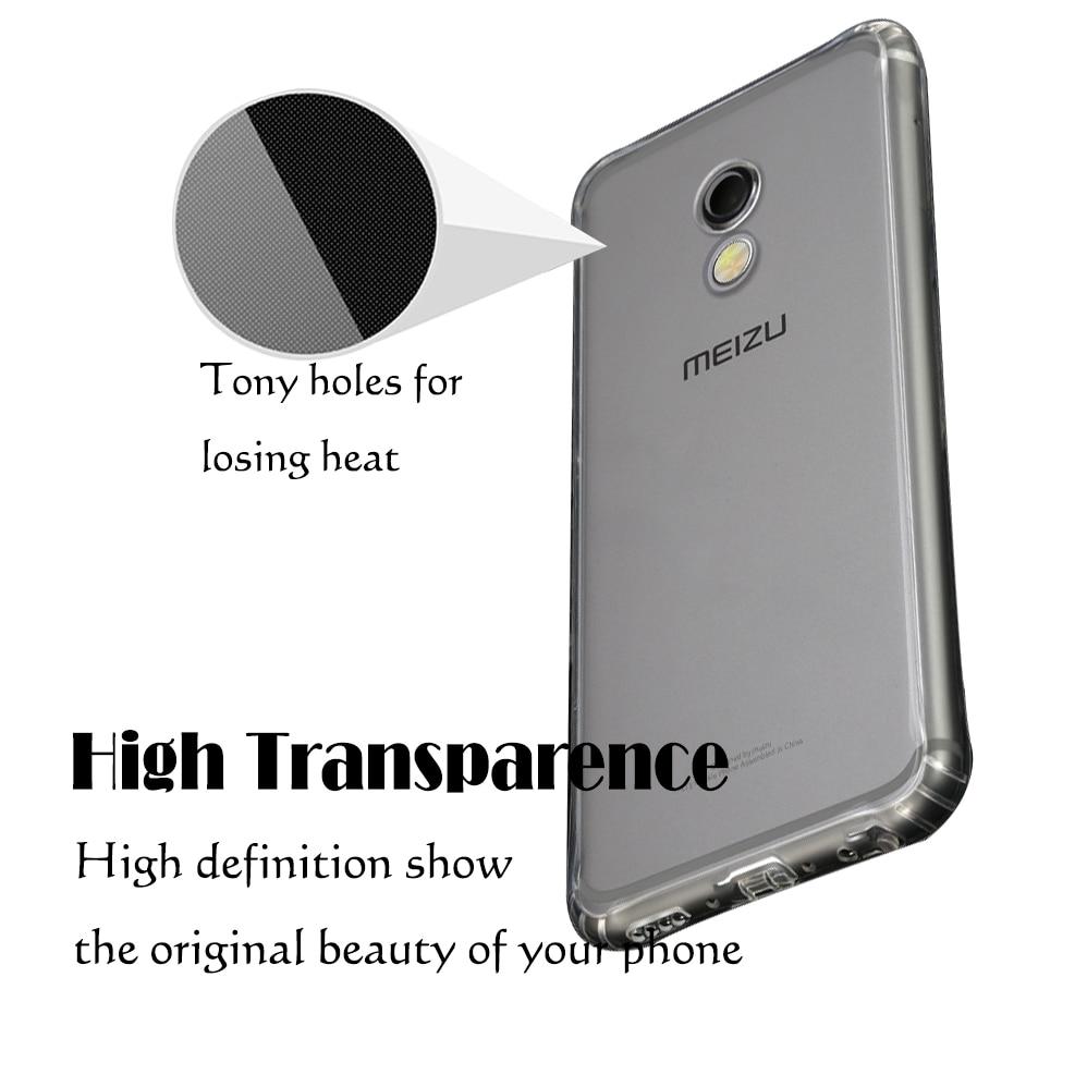 For Meizu MX5 / MX 6 / MX5e Silicone Soft TPU Ultra thin phone Case - Բջջային հեռախոսի պարագաներ և պահեստամասեր - Լուսանկար 4