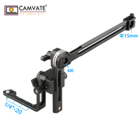 CAMVATE EVF Mount LCD Monitor Support with 15mm Rod Clamp C1736 camera photography accessories