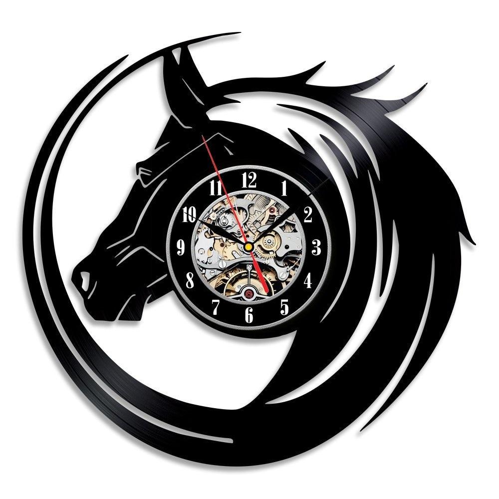 achetez en gros cheval horloge en ligne des grossistes cheval horloge chinois. Black Bedroom Furniture Sets. Home Design Ideas