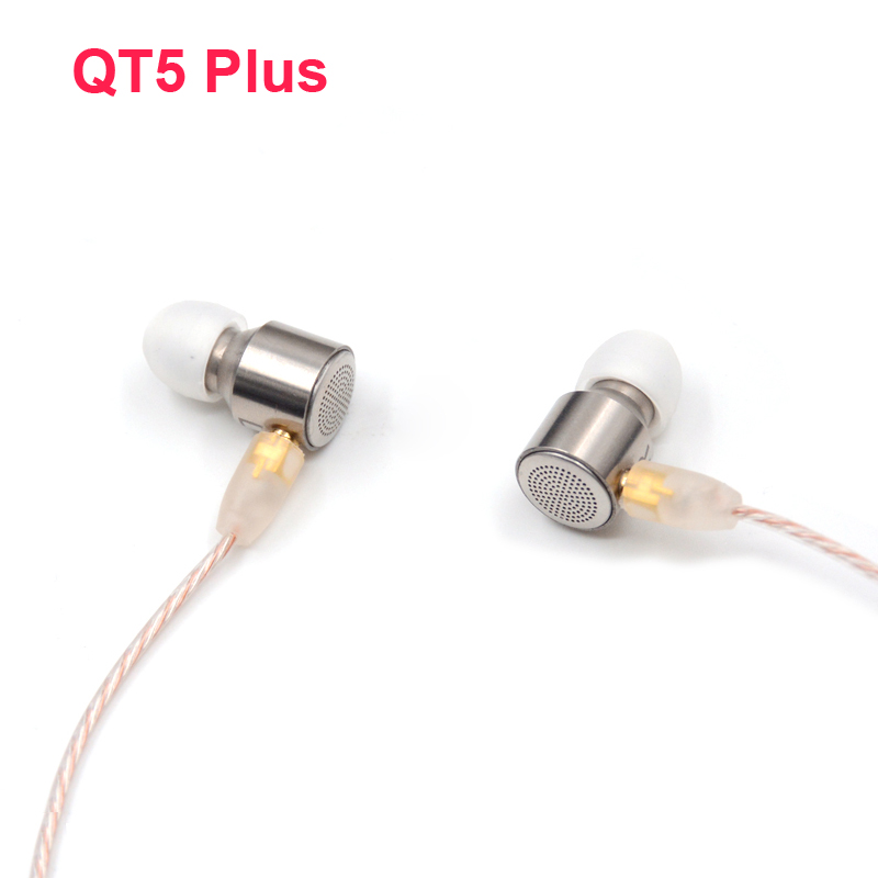 NICEHCK ZhiYin QT5 Plus Hybrid 5 Drive In Ear Earphone DIY HIFI Headset Earplug Tesla Technology