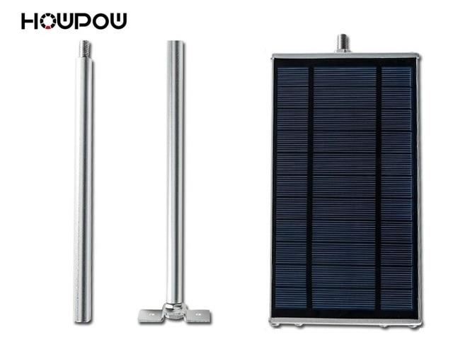 HOWPOW 70led Wireless Microwave Radar Motion Sensor Solar Lamp 1500LM Highlight Waterproof Street Outdoor Wall Lights