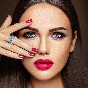 Image 5 - Floya 여성을위한 스테인레스 스틸 반지 교환 할 수있는 회전식 결혼 반지 빅 밴드 Aneis Feminino Anillos Mujer Layers Ring