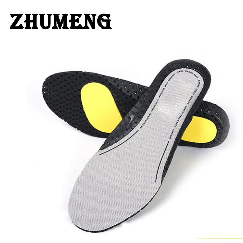 ZHUMENG Silicon Gel Insoles Foot Care for Plantar Fasciitis Heel Spur Running Insoles Shock Absorption Pads for men and women bocan gel insoles for spur plantar