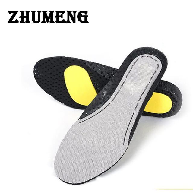 147ec4d683 ZHUMENG Silicon Gel Insoles Foot Care for Plantar Fasciitis Heel Spur  Running Insoles Shock Absorption Pads for men and women
