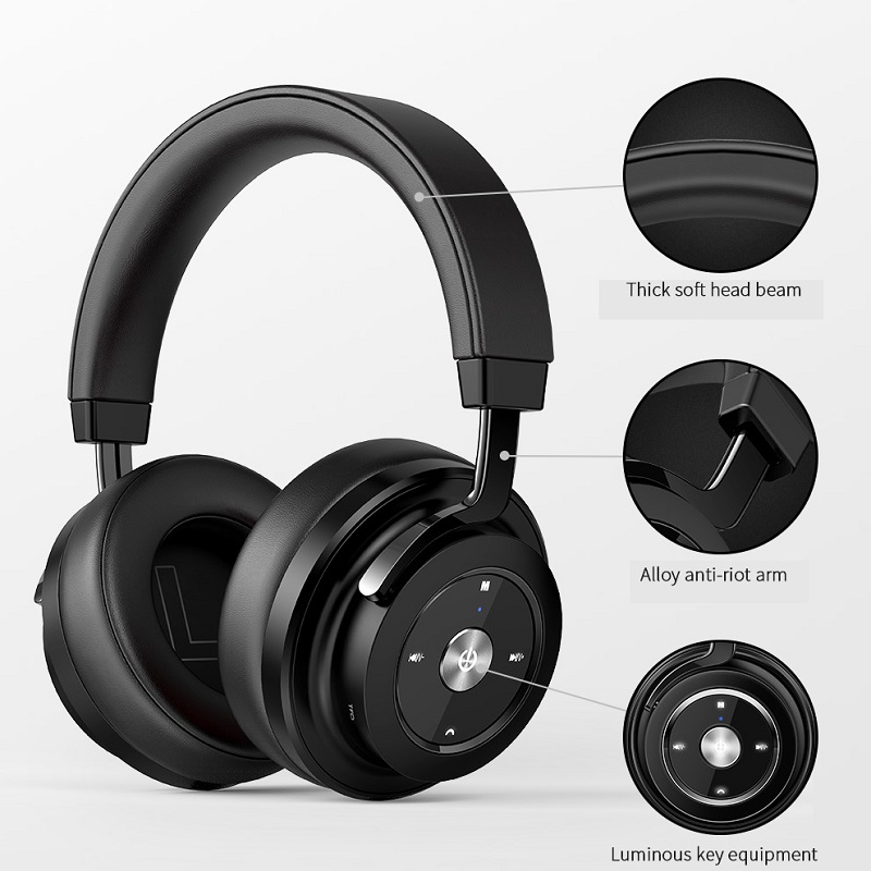Picun P20 Wireless Bluetooth Headphone Stereo HiFi Music Headset Super Bass Gamer Earphone With Microphone Support