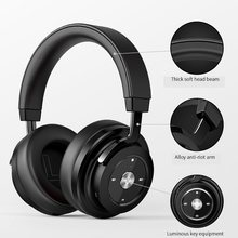 Picun P20 Wireless Bluetooth Headphone Stereo HiFi Music Headset Super Bass Gamer Earphone With Microphone Support Memory Card(China)