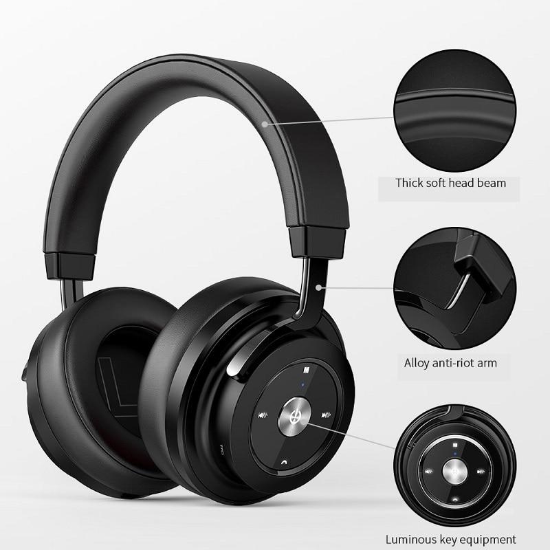 Picun P20 sans fil Bluetooth casque stéréo HiFi musique casque Super basse Gamer écouteur avec Microphone Support carte mémoire