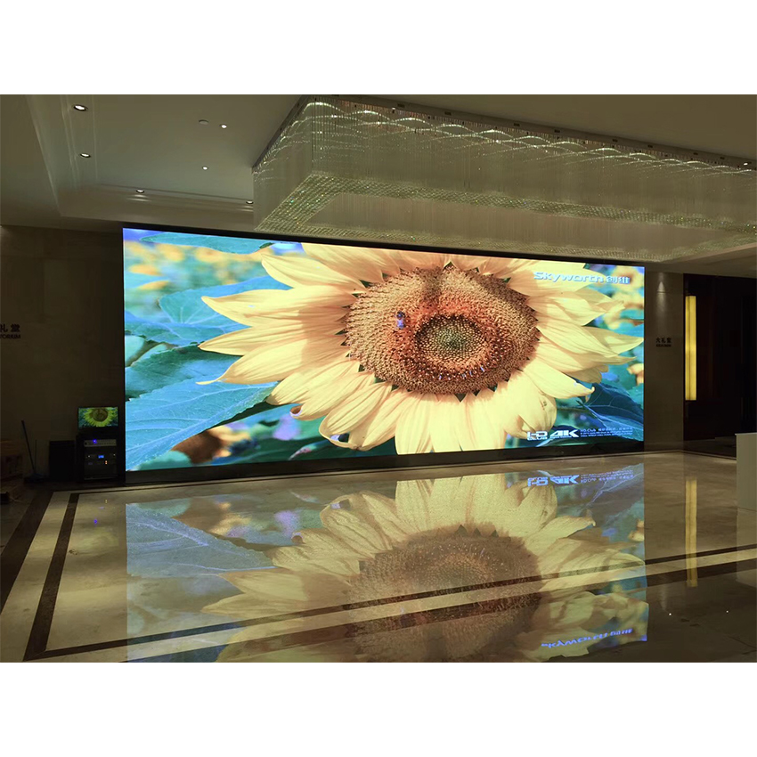 Rgb Full Color SMD P6mm 576x576mm Led Video Panel Indoor Led Display Screen 96*96dots Led Screen Advertising Billboard