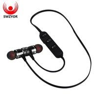 SUNRISE LY 11 Metal Sports Bluetooth Headphone SweatProof Earphone Magnetic Earpiece Stereo Wireless Headset For Mobile