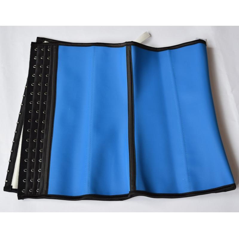 Image 5 - waist trainer latex modeling strap corsets steel slimming sheath belly cincher Shapewear fitness corset reduce belt girdle fajascorset tankcorset bracorset wholesale -