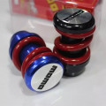2016 new hot MOMO Universal shift lever / heavy metal spring car tuninggear shift knob  black / blue optional free shipping