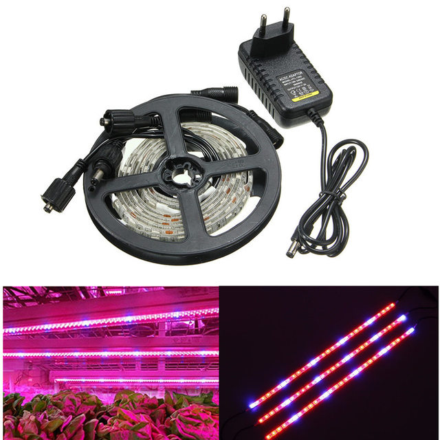 3pcs/lot LED Grow Light Strip 5050SMD 18W Waterproof IP65 Aquarium Fish Tank Plant Lamp For Greenhouse Hydroponic Flowers DC12V