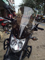 For Honda NC700S NC750S 2012-2014 heightening modified version in high-quality PC & elongated windshield 55CM Brown