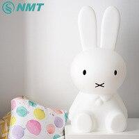 50cm Miffy Rabbit LED Night Light Children Baby Bedroom Night Lamp Bedside Decoration Lovely Lights Kids