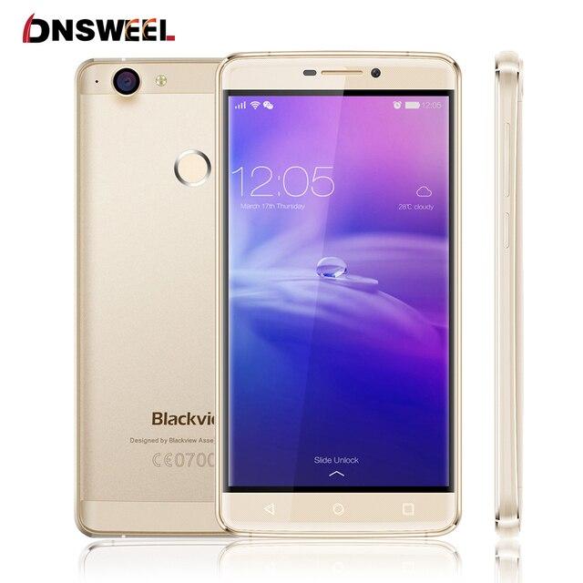 """Оригинал Blackview R7 4 Г Мобильный Телефон 5.5 """"FHD MTK6755 окта основные 2.0 ГГц Смартфон Android6.0 4 ГБ + 32 ГБ 13MP Отпечатков Пальцев ID"""