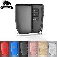 цена на TPU Key Case for Toyota LEXUS GS-350 GS-450h ES-300h ES-350 Keyles Smart Remote Fob Input Cover 4 button