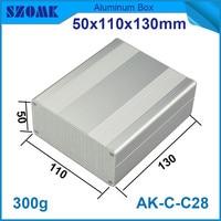 1 piece heatsink aluminium housing enclosure electrical control case with anodizing 50*110*130mm|case case|case electric|case enclosure -