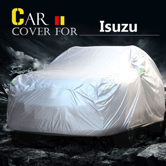 Full Car Cover Sun Anti-UV Snow Rain Scratch Resistant Dust Proof Cover Waterproof For Isuzu Ascender Hombre Oasis Rodeo Trooper