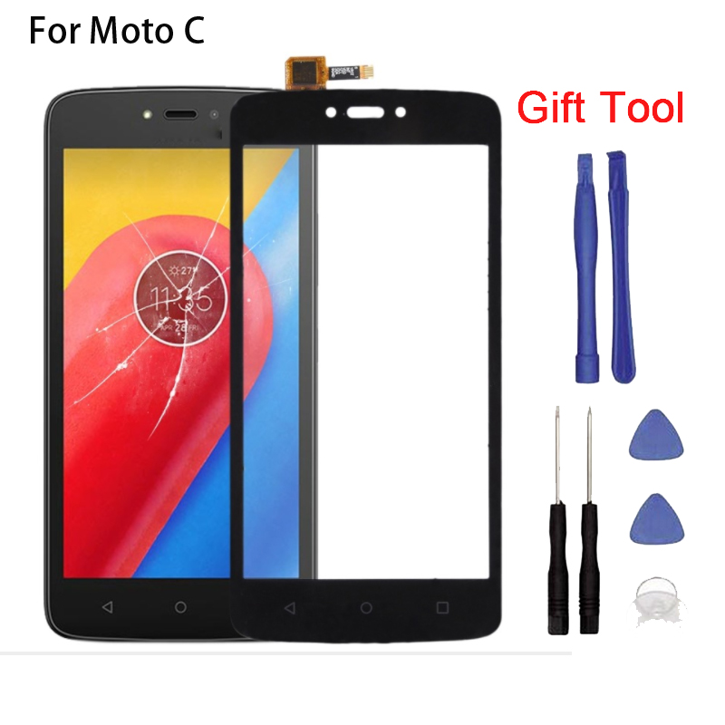 New Touch <font><b>screen</b></font> For Moto C XT1750 <font><b>XT1754</b></font> Touch <font><b>Screen</b></font> Digitizer Front Glass Touch Panel Replacement + tool image