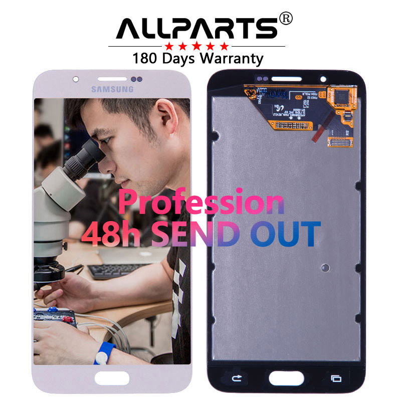 ORIGINAL 5 7 Super AMOLED Display for SAMSUNG Galaxy A8 LCD Display A8000 A800 A800F Touch