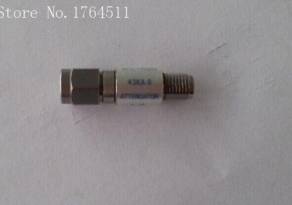 [BELLA] WILTRON 43KA-6 DC-18GHZ 6dB RF Fixed Precision Attenuator 3.5mm