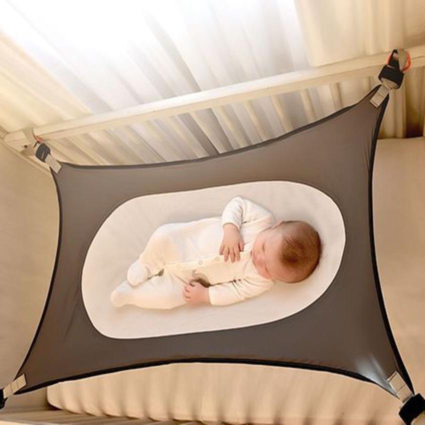 Baby Beds Infants Hammock Detachable Protable Folding Crib Cotton Newborn Sleeping Bed Outdoor Garden Swing Baby Cribs Bassinet newborn baby hammock