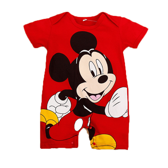 Mickey Minnie Baby Girl Romper